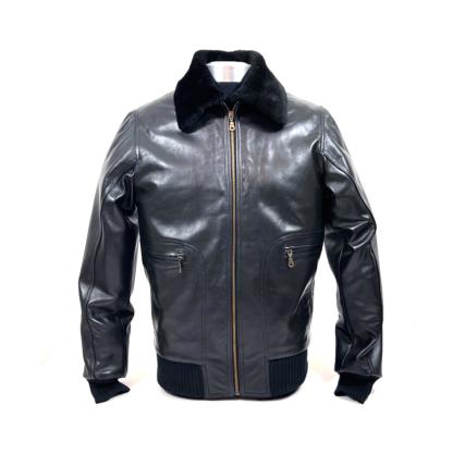 Usnjena jakna spredaj