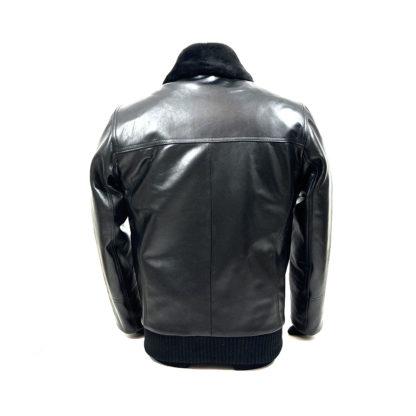 Usnjena jakna zadaj